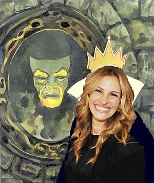 Julia Roberts as Evil Queen
