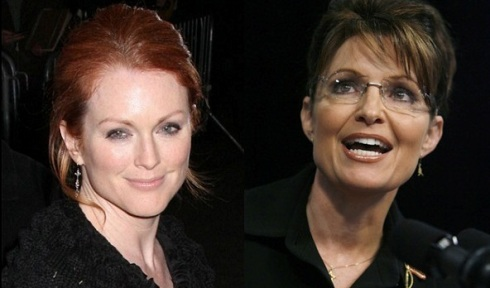 """Julianne Moore v. Sarah Palin"""