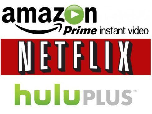 Amazon Hulu Netflix