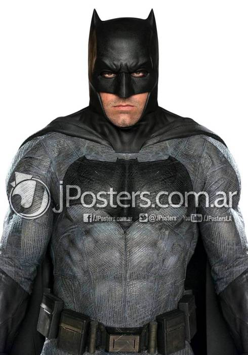 Ben Affleck in his Batman v Superman suit.