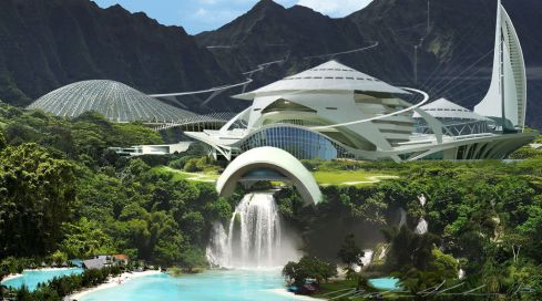 Park - concept art