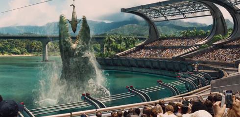 Swimming Dinosaur